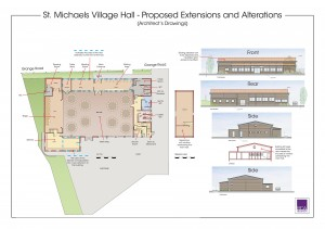 Village Hall Plan